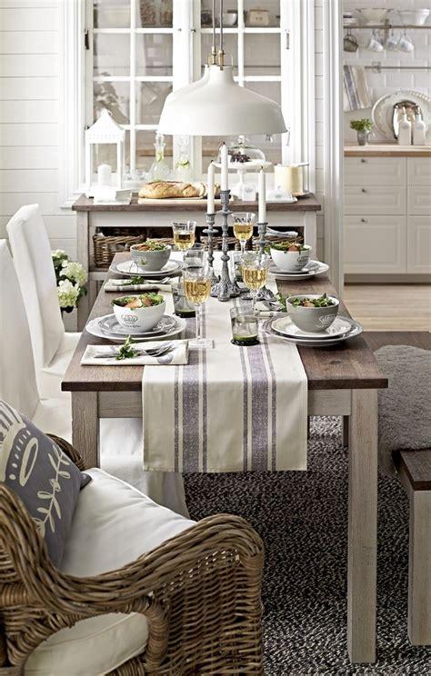 farmhouse kitchen table runners ikea limited edition kejsarkrona thedailybasics at
