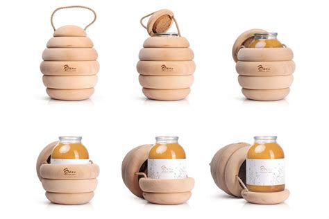 bzzz premium honey packaging  backbone branding design