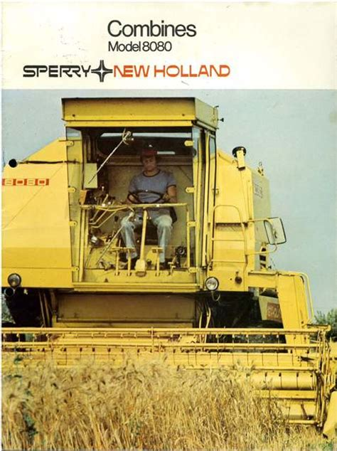 New Holland Combine 8080 Brochure