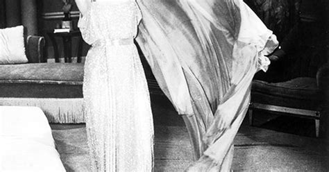 Carole Lombard On The Set Of