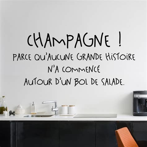 cuisine citation sticker citation chagne stickers citations cuisine ambiance sticker