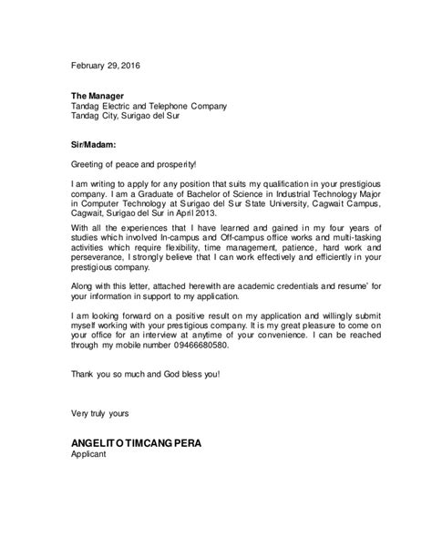application letter for pe 28 images sle professional