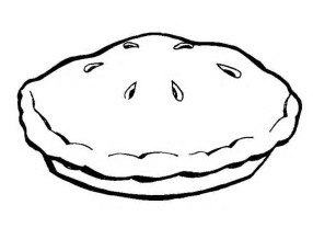HD Wallpapers Coloring Page Apple Pie