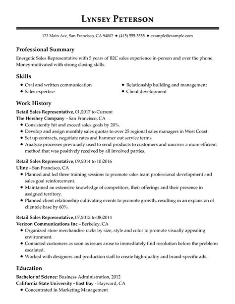 Employment Resume Template by Free Resume Templates Easy To Customize Templates