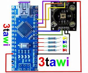 Great Projects  Arduino Color Sensor Tcs230 Tcs3200