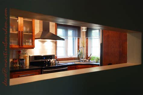 cuisine avec ouverture passe plat un passe plat une cuisine et sa histoire martine