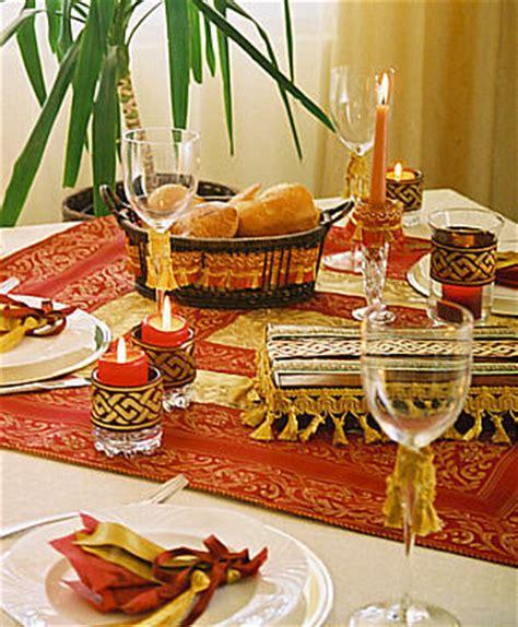 Orientalische Tischdeko Selber Machen by Idee F 252 R Eine Orientalische Tischdekoration Orientalisch