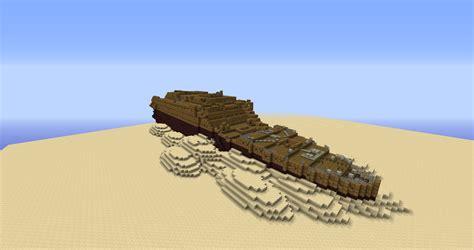 Minecraft Boat Titanic by Titanic Minecraft Build Recreates Doomed Ship