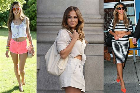 Celebrity Style Looks The Crop Top