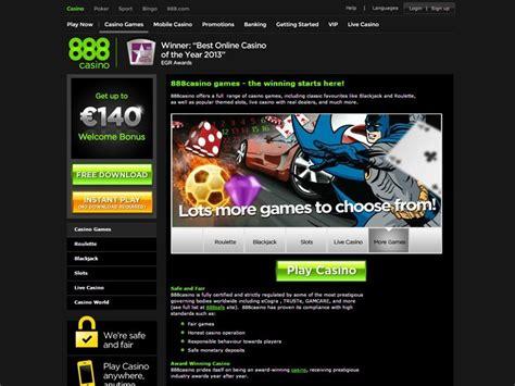 888 Casino Review Get Your 100% Welcome Bonus Up To €140