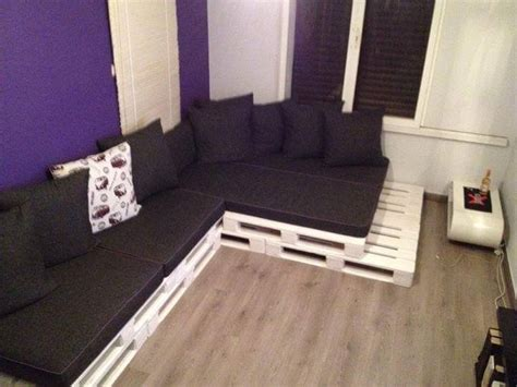 Pallet Settee by Pallet Living Room L Sofa With Table 99 Pallets