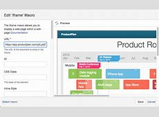 Integrate Your Roadmap Into Atlassian Confluence