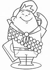 Coloring Pages Boy Russel Scouting Ellie Disney Colouring Printables Bestcoloringpagesforkids Place Sheet Cartoon Getdrawings Paper Utilising Button sketch template