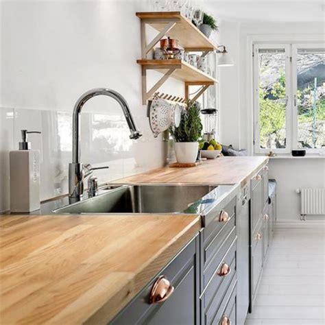 plan travail cuisine beton cire relooker une cuisine 8 astuces ooreka