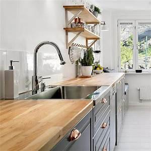 Changer Plan De Travail Cuisine : relooker une cuisine 8 astuces ooreka ~ Dailycaller-alerts.com Idées de Décoration
