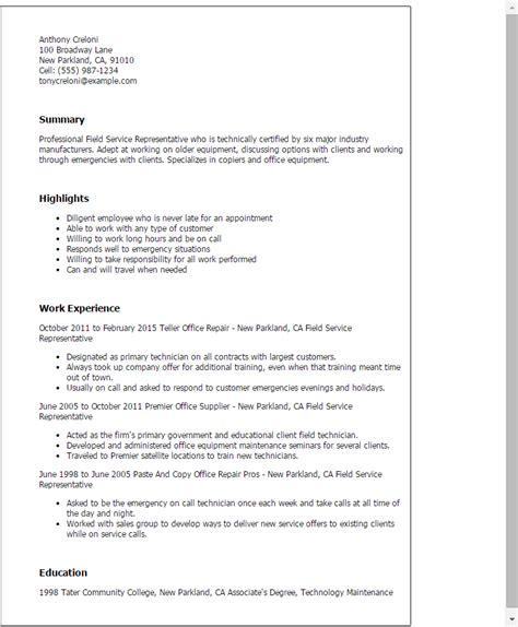 field representative cover letter professional field service representative templates to