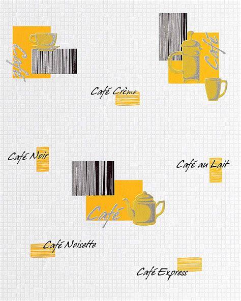 papier peint cuisine lavable papier peint design café motifs edem 062 21 café bar