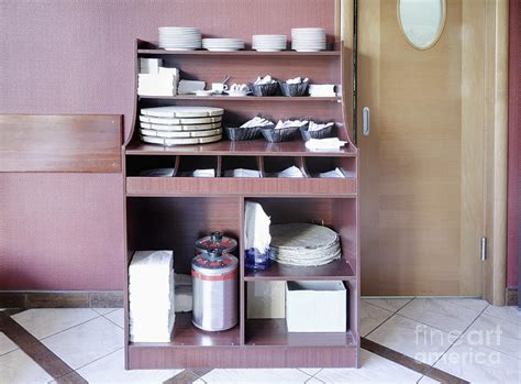 The Cupboard Restaurant by Restaurant Dishware Cupboard Photograph By Magomed