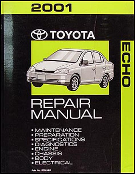 Toyota Echo Wiring Diagram Manual Original