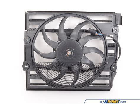 64546921383 electric auxiliary fan e38 1999 2001 z8 turner motorsport