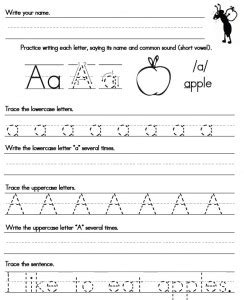 handwriting worksheets  stroke victims