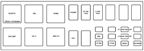 Gmc Topkick Fuse Box by Ford E450 Fuse Box Diagram Wiring Library