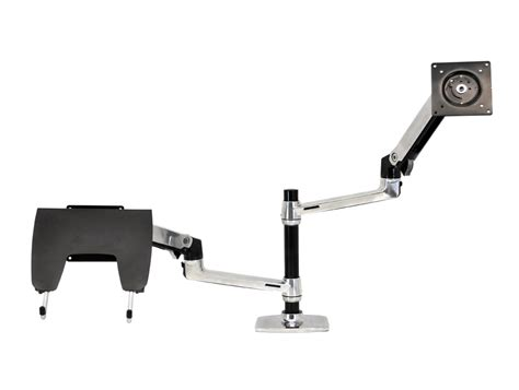 Ergotron Lx Desk Mount Lcd Arm by Ergotron Lx Dual Stacked Desk Mount Lcd Arm Radius Office