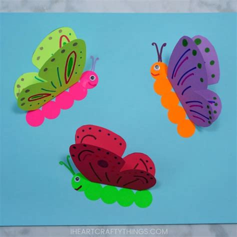 how to make a 3d paper butterfly craft 228 | 3d paper butterfly craft 2 copy