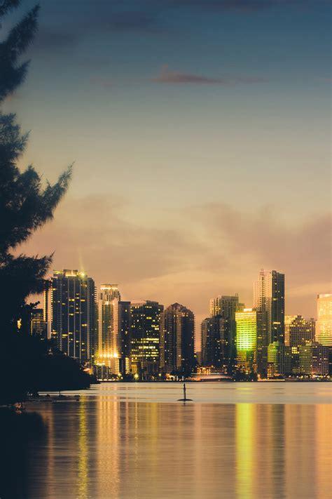 Downtown Miami Iphone Wallpaper Hd