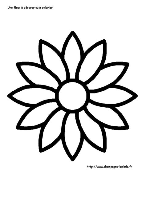 coloriage fleur  colorier dessin  imprimer flower pattern drawing fall coloring pages