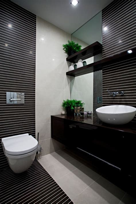 Monochrome bathroom design
