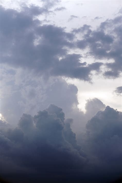 Gray, Soft Clouds - Free Nature Stock