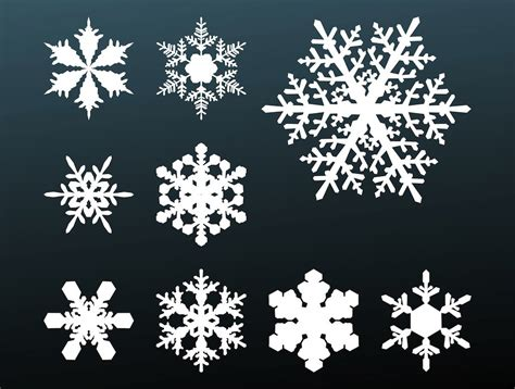 free snowflake 25 high quality free vector graphics 2016