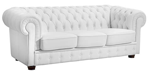 chesterfield sofa weiss nottingham 3er sofa chesterfield leder wei 223 polsterm 246 bel chesterfield 3 sitzer