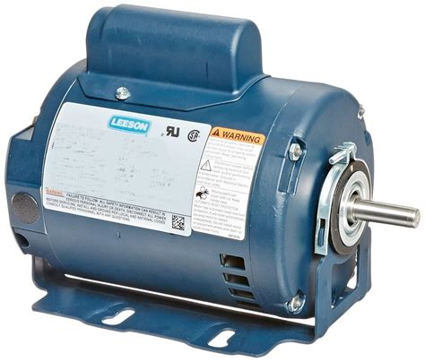 1 Hp Electric Motor by Leeson Electric Motor 100603 00 3 4 Hp 3450 Rpm 1 Ph 115