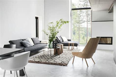 quel tapis avec canapé gris choisir le meilleur tapis scandinave avec notre galerie