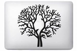 Stickers Arbre Photo : autocollant macbook arbre pour macbook air et pro 11 13 15 17 pouces ~ Teatrodelosmanantiales.com Idées de Décoration