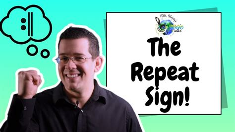 A repeat bar is a musical symbol resembling a final barline with two dots in the middle spaces of the staff. Music Theory for Kids: The Repeat Sign - YouTube