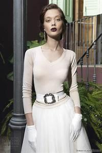 inmaculada garcia 2014 wedding dresses savanna tales With long sleeve casual wedding dresses