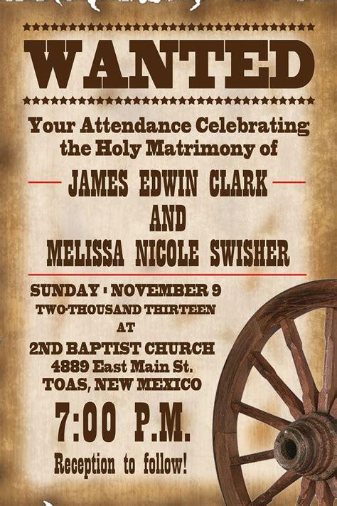 rustic wedding invitation wording samples rustic western