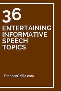 Best 25+ Informative speech topics ideas on Pinterest ...