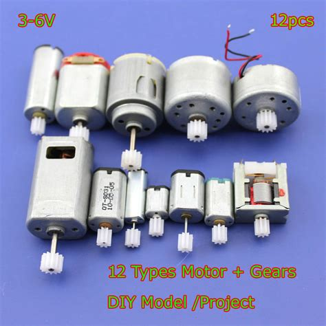 Micro Electric Motor by 12pcs Dc 3v 6v Mini 130 Micro Dc Motor Gear Small