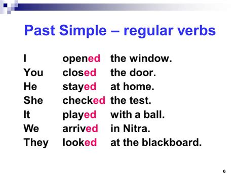 Past Simple Regular And Irregular Verbs  Ppt Video Online Download