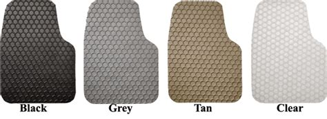 Hexomat Custom All Weather Floor Mats by Seat Covers Unlimited