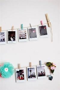 Foto Deko Ideen : polaroid fotos deko basteln gestalten 17 gute laune ideen ~ Watch28wear.com Haus und Dekorationen