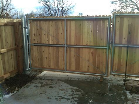 privacy fence how to build a wooden fence gate with metal posts