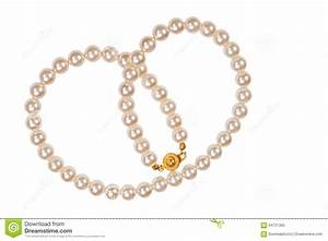 Pearl Necklace Stock Photo - Image: 64721355