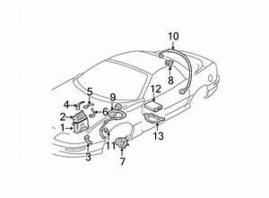 Chevrolet Camaro Harness  Bracket  Abs  Sensor  System