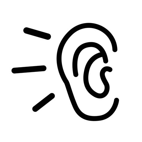 Listen Icon Transparent Listen PNG Images Vector FreeIconsPNG