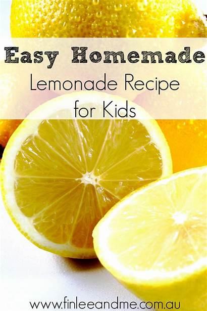 Lemonade Recipe Easy Cooking Stand Ingredients